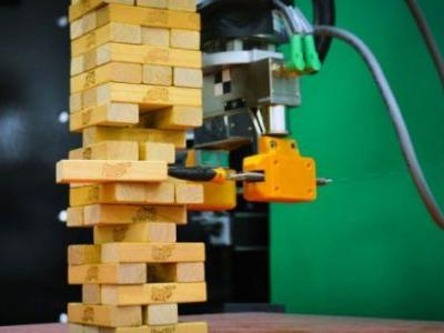 MIT Robot Learned to Play Jenga Through Vision and Touch