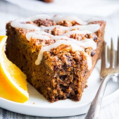 Orange Gingerbread Coffee Cake