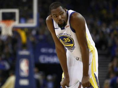 Kevin Durant injury update: Warriors star 'doubtful' vs. Thunder