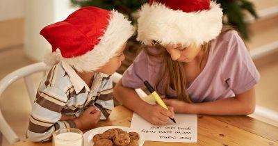 Kids have already started writing their letters to Santa and they're adorable