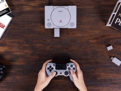 PlayStation Classic now supports wireless DualShock controllers thanks to 8Bitdo