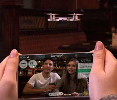 AEE SELFLY Is A Flying Smartphone Case With 1080p Recording - CES 2018