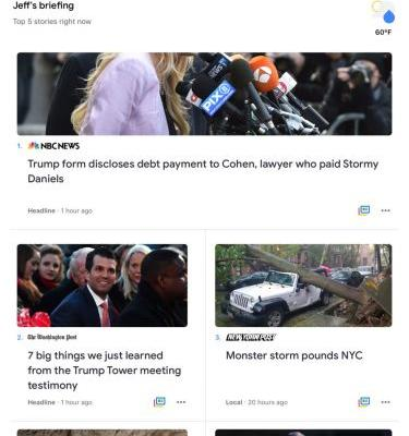The revamped Google News app is now available on iPhones and iPads