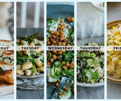 Next Week's Meal Plan: 5 Vegetarian Summer Dinners from Hetty McKinnon