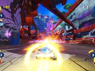 Team Sonic Racing Review - Something Borrowed and Blue