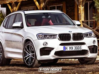 BMW X3 M To Get Competition Package