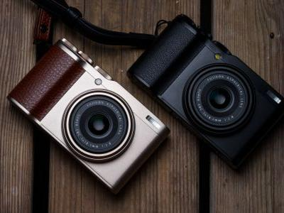 The XF10 is Fujifilm's new premium compact