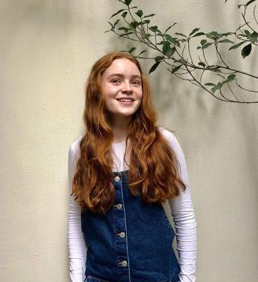 Stranger Things 2's Sadie Sink On Denim, Fashion Icons And '80s Style