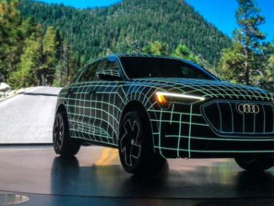 The coolest tech in Audi's new e-tron electric SUV is banned in the US