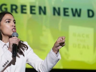 Democratic primary voters overwhelmingly prefer Alexandria Ocasio-Cortez's Green New Deal to Joe Biden's climate plan
