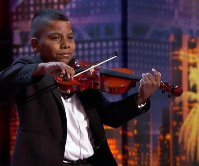 Tyler Butler-Figueroa slays 'America's Got Talent' with violin skills