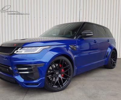 The First Lumma Design 2018 Range Rover SVR Built Right Here In South Africa