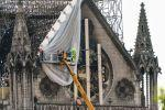 Workers Rush To Secure Notre Dame's Weakened Structure
