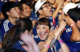 Japanese fans look beyond tactics to celebrate victory