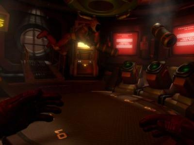 Downward Spiral: Horus Station is 3rd Eye Studios' zero-gravity space VR game