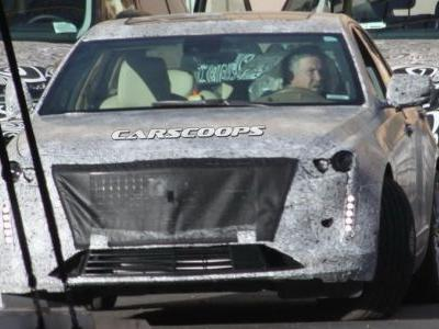 U Spy 2019 Cadillac CT6 With Escala Concept-Inspired Refresh