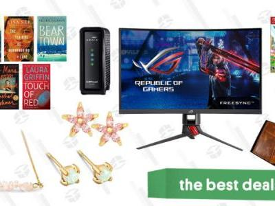 Sunday's Best Deals: Arris Modem, Kindle Bestsellers, Jewelry, and More