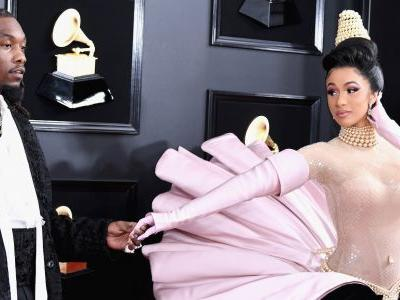 Cardi B and Offset Make Up Just In Time For the 2019 Grammys - See Them Together on the Carpet!