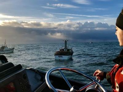 After catching 5 times as many migrants off the West Coast in 2018, Coast Guard crews are working without pay - and retirees may be next