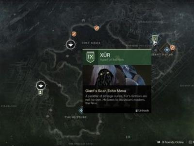 Destiny 2: Xur location and inventory, October 19-22