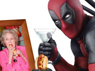 Deadpool Sends Happy Birthday Wishes to Betty White