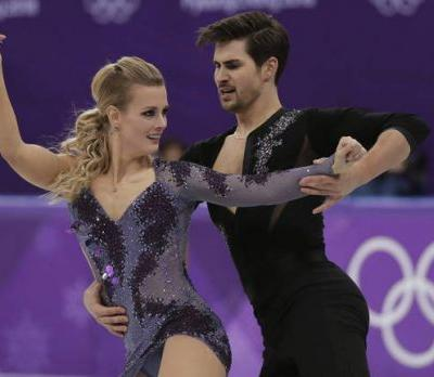 US shows power in Olympic short dance with 3rd, 4th and 7th