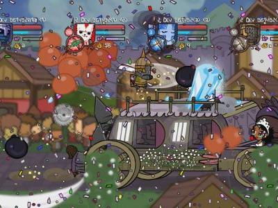 Castle Crashers Remastered coming to PS4 and Nintendo Switch September 17