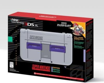 Amazon seemingly confirms Super NES Edition New 3DS XL for North America, says it's due out Nov. 27th, 2017