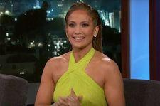 Jennifer Lopez Details Vigorous Stripper Pole Movie Training, Meeting A-Rod in Time for V-Day on 'Kimmel': Watch