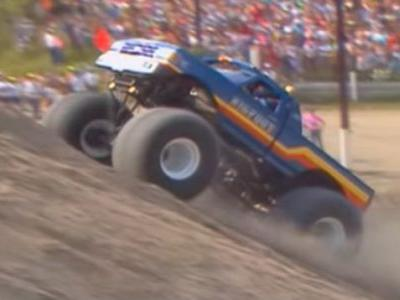 Watch Bigfoot Absolutely Dominate a Different Kind of Hillclimb