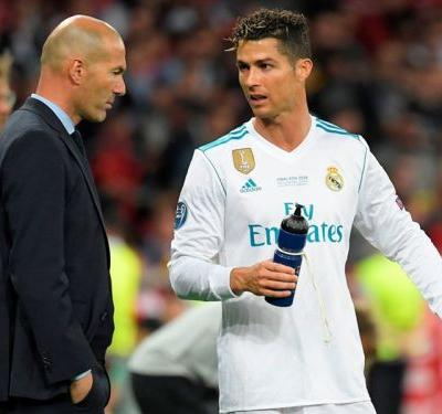 We do not think about that - Zidane shrugs off Ronaldo exit talk