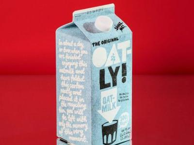 Oatly, the vegan milk company backed by Oprah, confidentially files for IPO
