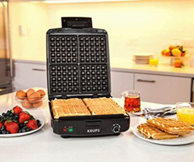 No kitchen setup is complete without this $31 waffle maker