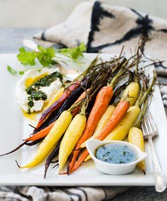 Caramelized Carrots with Chermoula