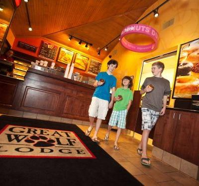 Dunkin' Opens New Restaurant at Great Wolf Lodge Pocono Mountains