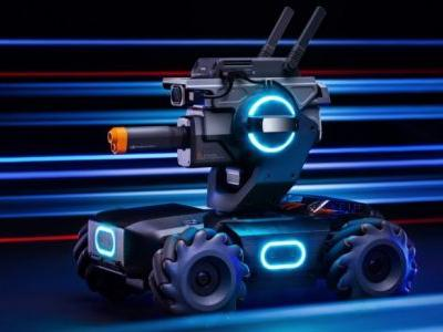 DJI's RoboMaster S1 tank might be the funnest way to learn to code