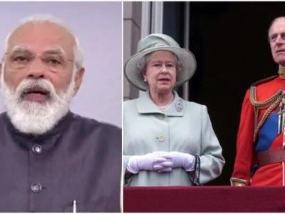 PM Modi pays tribute to Queen Elizabeth's husband Prince Philip. See his tweet