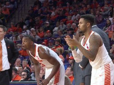 Reed leads Clemson to 76-66 victory over Boston College