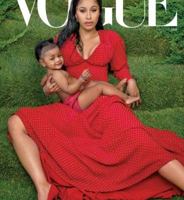 Cardi B Covers Vogue With Her Daughter Kulture