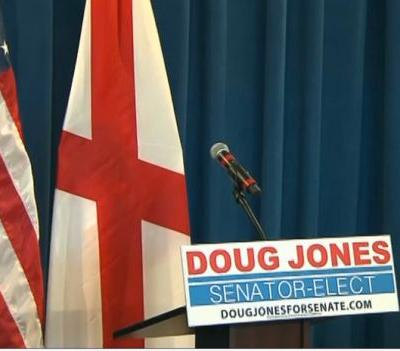 WATCH LIVE: Doug Jones to address the media following Alabama Senate seat victory