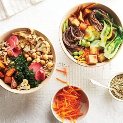 How To Make Grain Bowls For A Healthy Work Lunch