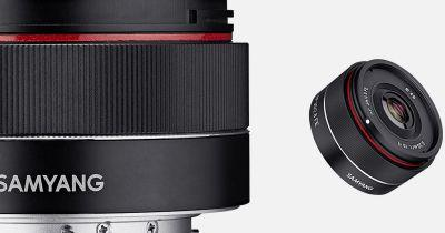 Samyang Unveils Tiny, Affordable 35mm f/2.8 Autofocus Lens for Sony