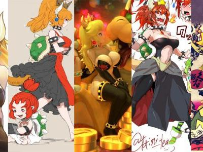 Princess Bowser is a fan creation and it's transformation that's sweeping the nation