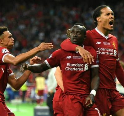 Mane makes Champions League history for Liverpool's 'Fab Three'