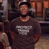 Don Cheadle Spread a Powerful and Neccesary Message on SNL, Simply By Wearing This T-Shirt