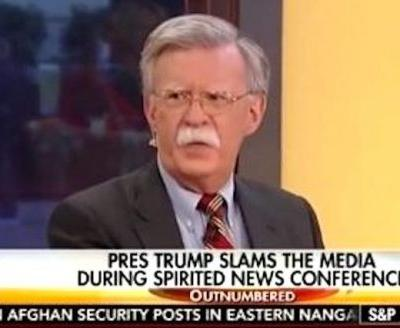 John Bolton Reportedly Told Trump He 'Wouldn't Start Any Wars' If Hired as National Security Adviser