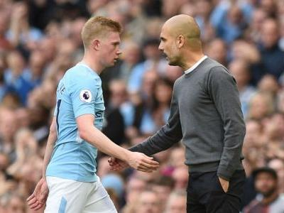 Video: De Bruyne was the Premier League's best this season - Guardiola