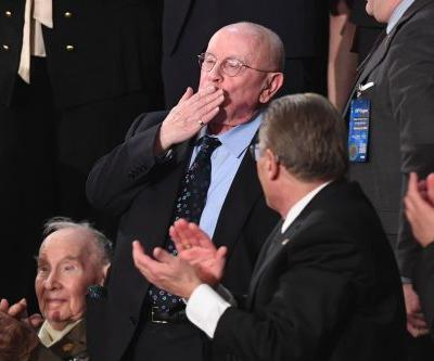 He survived Holocaust, Tree of Life shooting. At SOTU, Congress sang him 'Happy Birthday'
