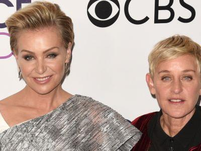 Ellen DeGeneres says Portia de Rossi wants her to end daytime talk show