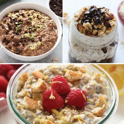 5 Quick and Healthy Overnight Oats Recipes {Video}